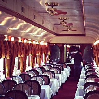 Dining Car on the Napa Valley Wine Train | by NoshWithMe