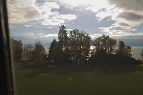 Train From Nyon to Geneva