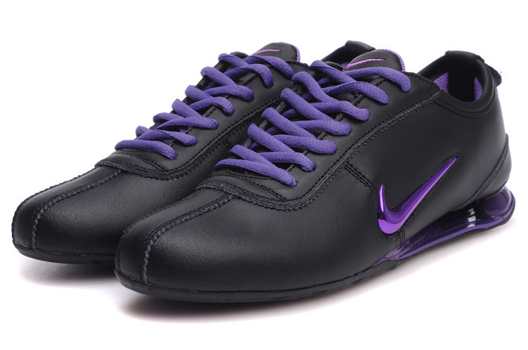 official photos 47be9 c6938 chaussures nike shox r3 femme (noir pourpre)