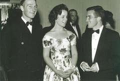 Rural Youth Ball 22ndApr1960 Gawler Institute Lyndon Richter, Rosemary Gordon & Graham Alexander