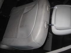 Mercedes clase E respaldo antes