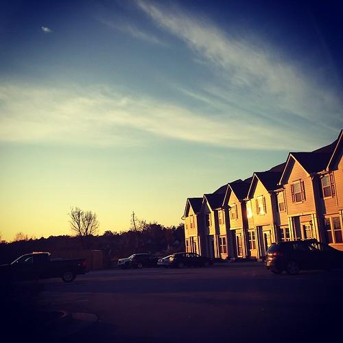 sunset square realestate dusk squareformat iphoneography instagramapp xproii wakefieldcommons