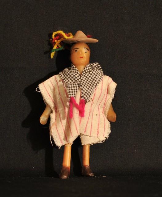 Wax Doll Zinacanatan Chiapas Mexico