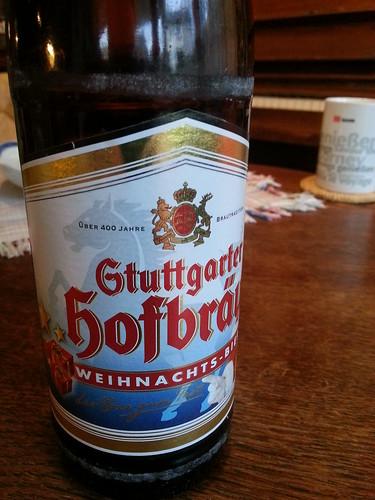 Stuttgarter Hofbräu - Weihnachtsbier   by Azchael