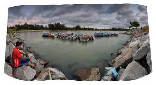 Panorama   Jerudong Beach