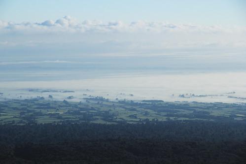 morning newzealand mist nature fog clouds landscape foggy mttaranaki egmontnationalpark efs1585 canoneos550d