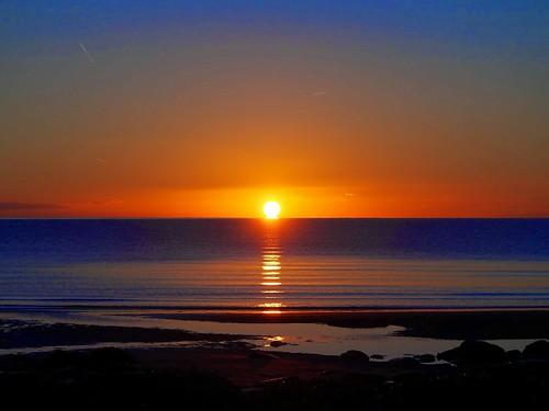 sunrise dawn twilight