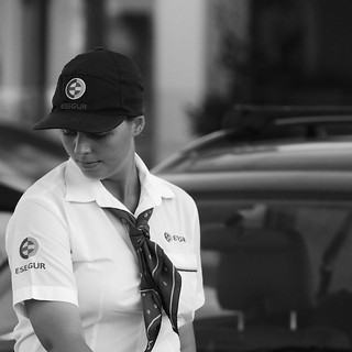 Beautiful security woman | by pedrosimoes7