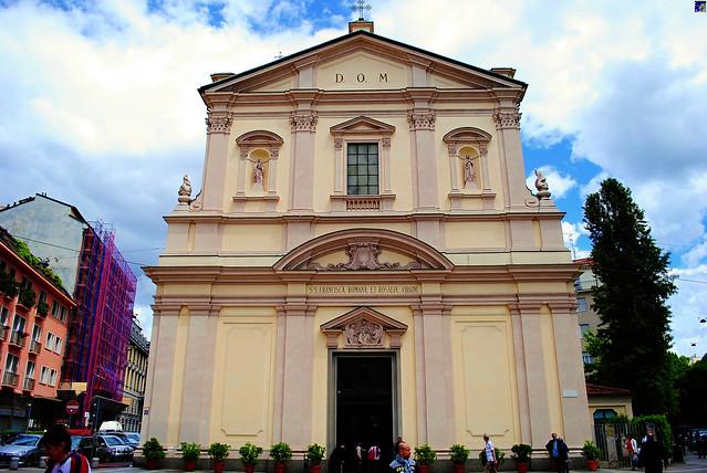 Santa Francesca Romana, Milano, Italy.