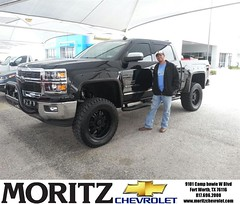 Congratulations to Blake Wiethorn on your #Chevrolet #Silverado 1500 purchase from Kathryn Underwood at Moritz Chevrolet! #NewCar
