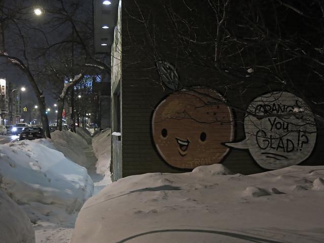 Sidewalk in Buffalo, NY