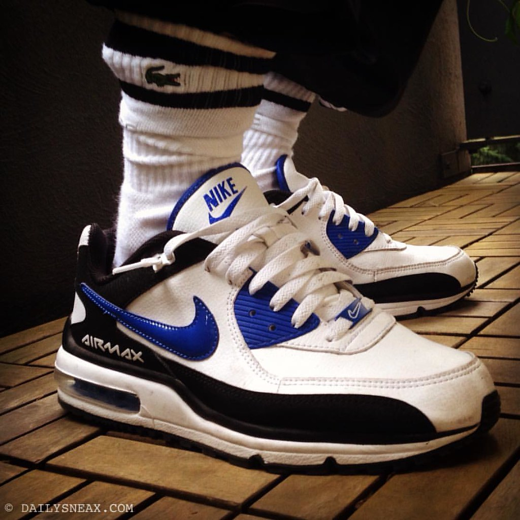 pretty nice 42531 2c20e ... My choice for today  Nike Air Max Wright LTD2 in white and blue   nikeairmax