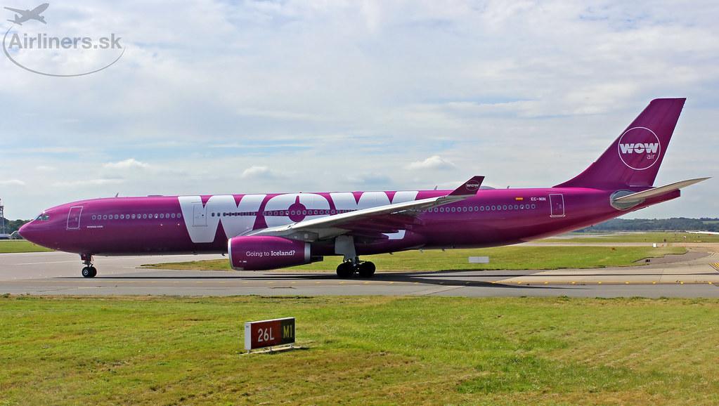 EC-MIN WOW air Airbus A330-343
