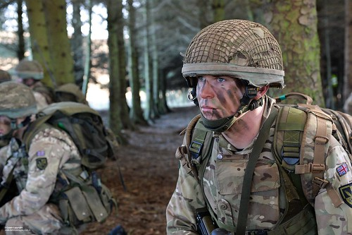 Paratroopers on Exercise in Northumberland | by Defence Images