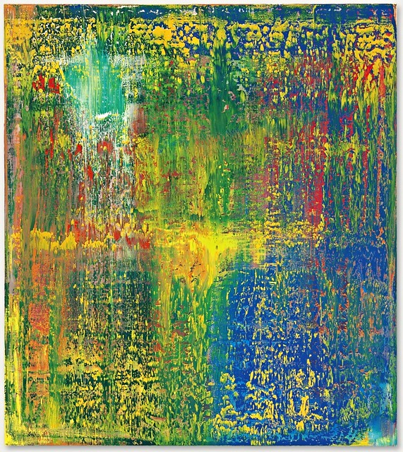 Richter, Gerhard (1932- ) - 1987 Abstract Painting 648-3 (Christie's New York, 2014)