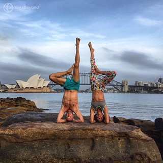 January #ACROVINYASA Challenge DAY 15: Headstand (Sirsasana I) Teaching regular classes offers yoga teachers a wonderful insight into so many different types of bodies. We've learnt over time that the same alignment cues simply don't apply to everyone. Th   by FFries Photo