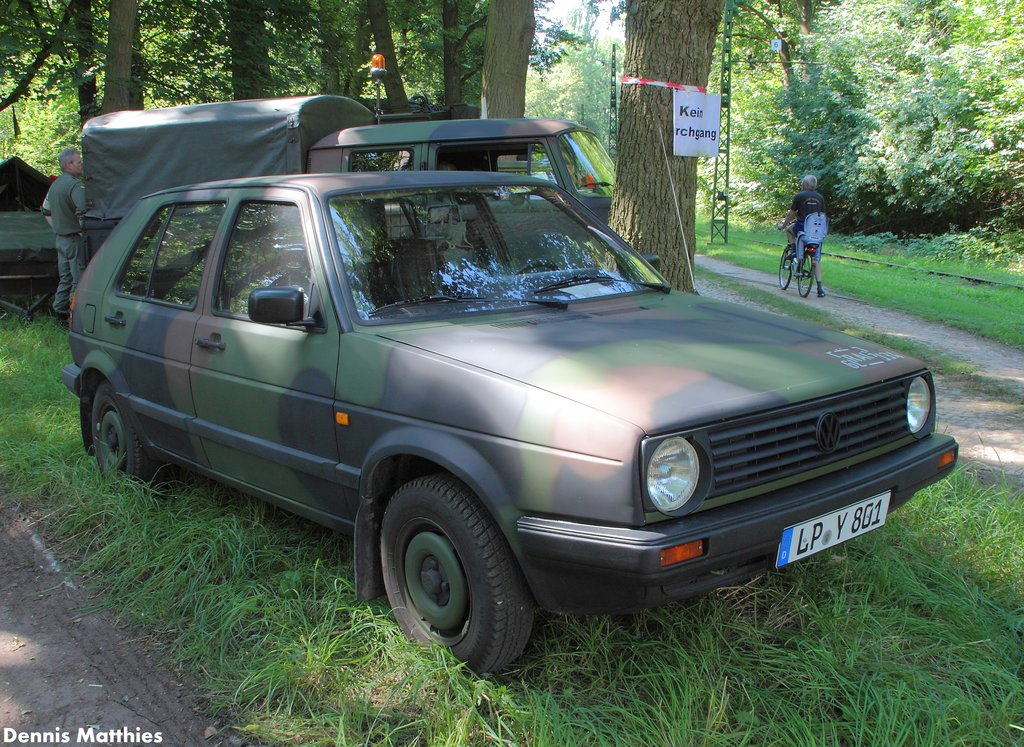 info for 67d57 015e1 Bundeswehr Golf | A VW Golf II at the Hannover tram museum ...