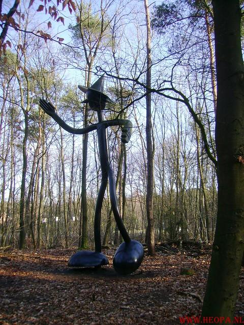 W.S.V.de Trekvogels 09-02-2008 15 Km  Apeldoorn (8)