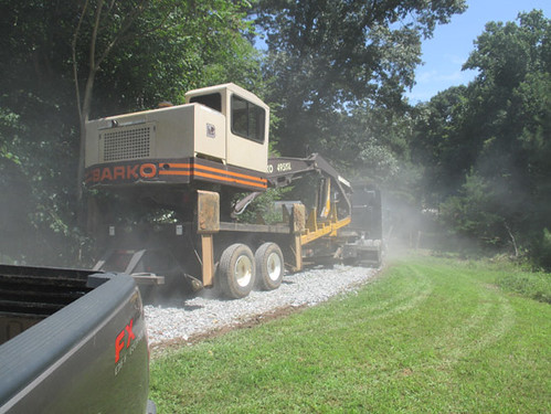 Moving in the loader