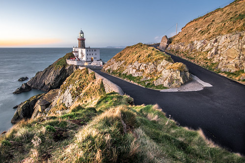 cliff clouds composition dublin europe ireland konicaminolta1735 landscape leading lighthouse lines longexposure motion photo photography sea seascape sky sony sonya7 sunrise travel ultrawide onsale