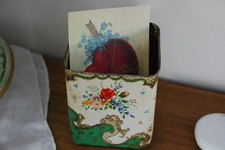 vintage tin | by A Storybook Life