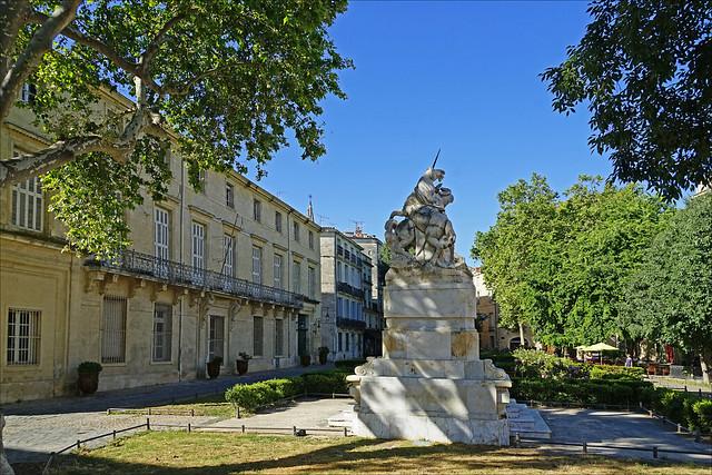 Le jardin de la Canourgue (Montpellier)