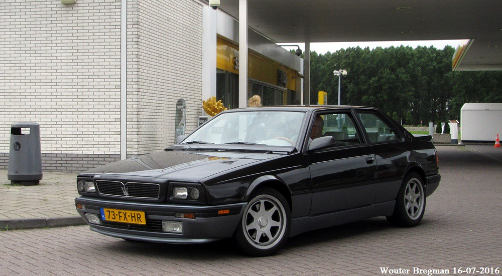 Maserati Biturbo 2.24v. II 1992 | Leiderdorp, Netherlands ...