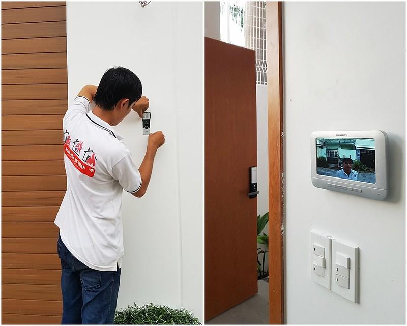 Thiết bị an ninh door phone