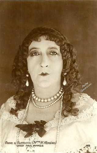 Marguerite Moreno in Vingt ans après (1922)