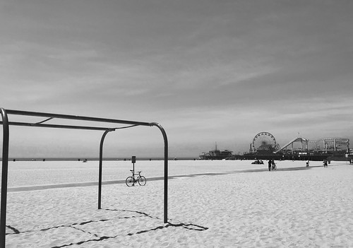 Santa Monica, California. Muscle Beach. Operation Desolation.   by jamestapparo