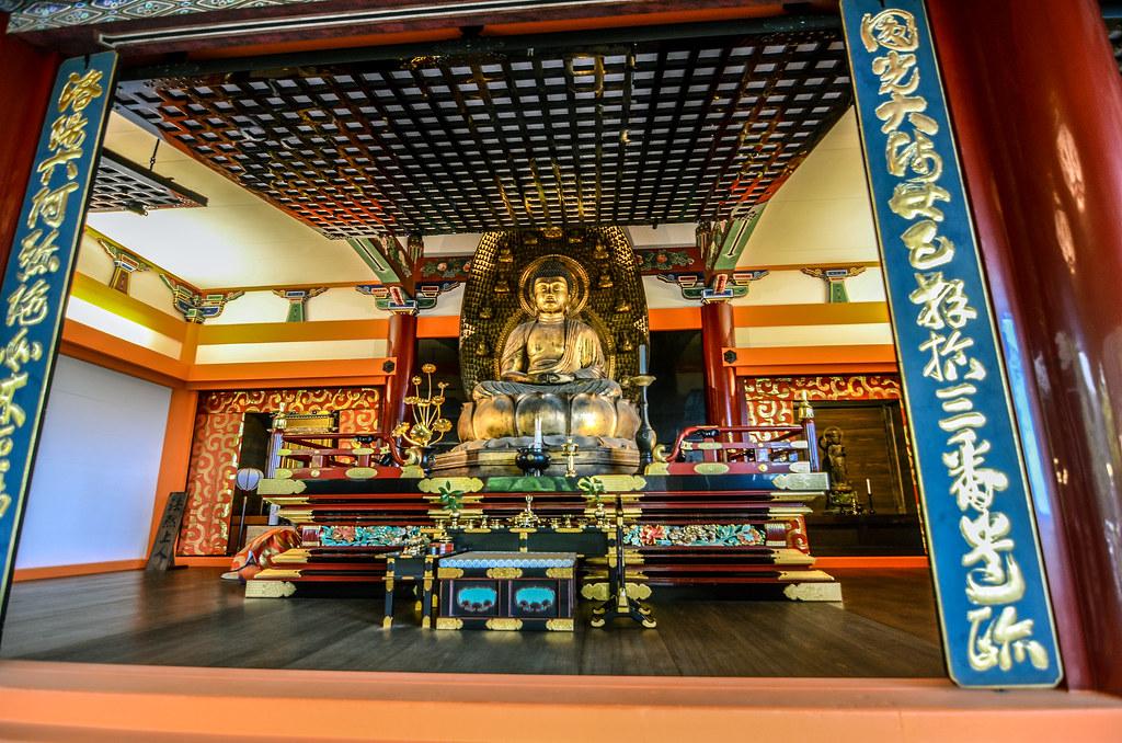 Kiyomizu-dera statue
