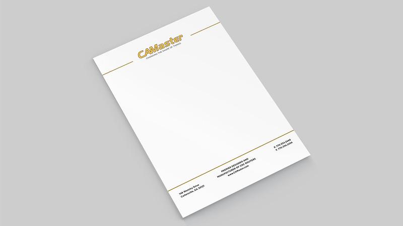 CAMaster Letterhead