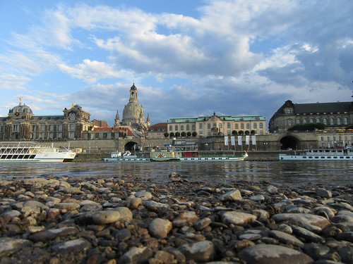 Dresden-Panorama am Elbstrand | by Grüner Nomade