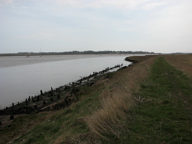 The River Deben near Felixstowe