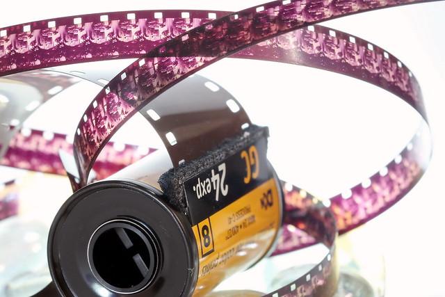 Pellicule pour photo argentique et film 35mm d'une autre époque