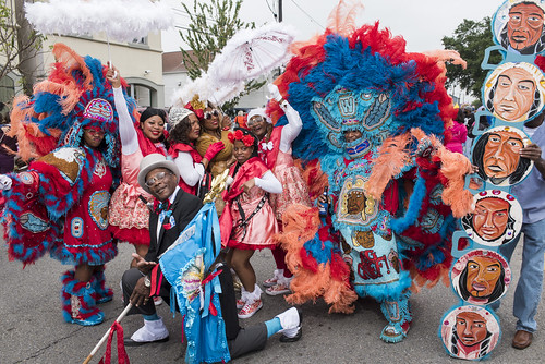 Original Wild Tchoupitoulas during Downtown Super Sunday on April 8, 2018. Photo by Ryan Hodgson-Rigsbee RHRphoto.com