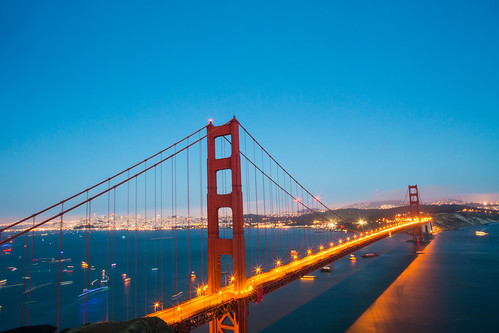 A Bridge and a Birthday Party | by Thomas Hawk