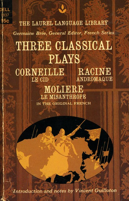 Dell Books 8837 - Germaine Brée - Three Classical Plays
