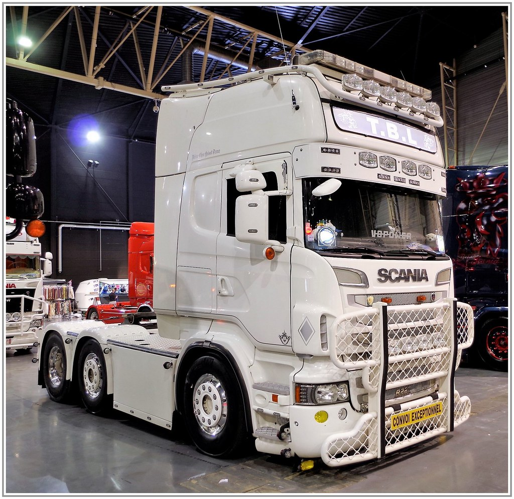 Scania R730 Topline 6x4 2 T B L Trans Benne Location Ve
