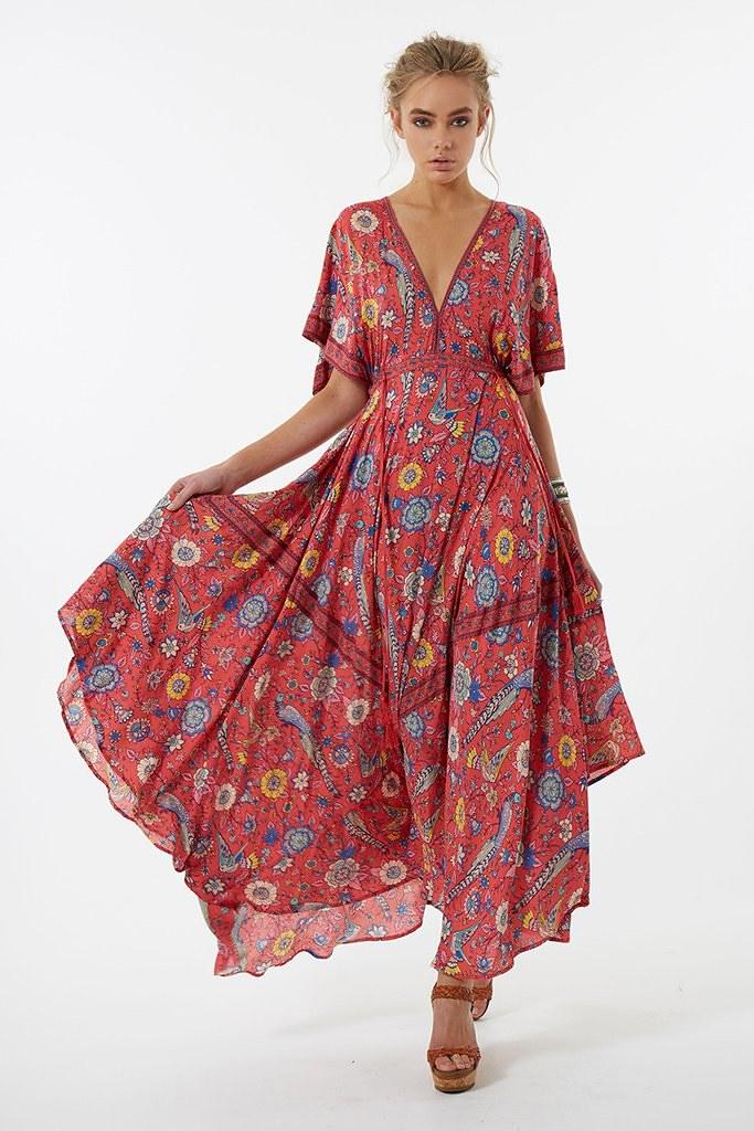 967b133c4ac8 Spell Lovebird Half Moon Gown Rose 2 | SHOP NOW 👉 Spell Lov… | Flickr