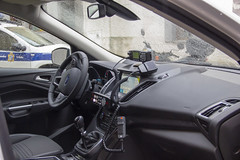 Detalle del interior del nuevo vehículo.