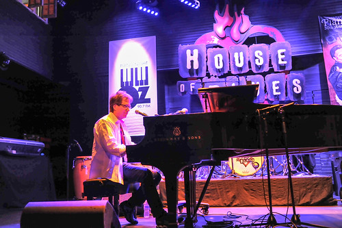 John Autin at WWOZ's 30th Annual Piano Night - April 30, 2018. Photo by Michael E. McAndrew Photography.