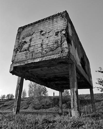concrete monster russia blackwhite