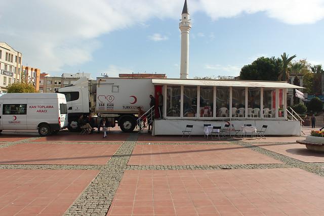 aliaga-Türk Kızılayı Aliağa'yı mesken tuttu (5)