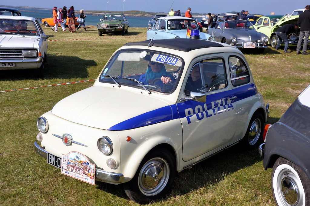 Fiat 500 Polizia The Fiat 500 Italian Cinquecento Itali Flickr