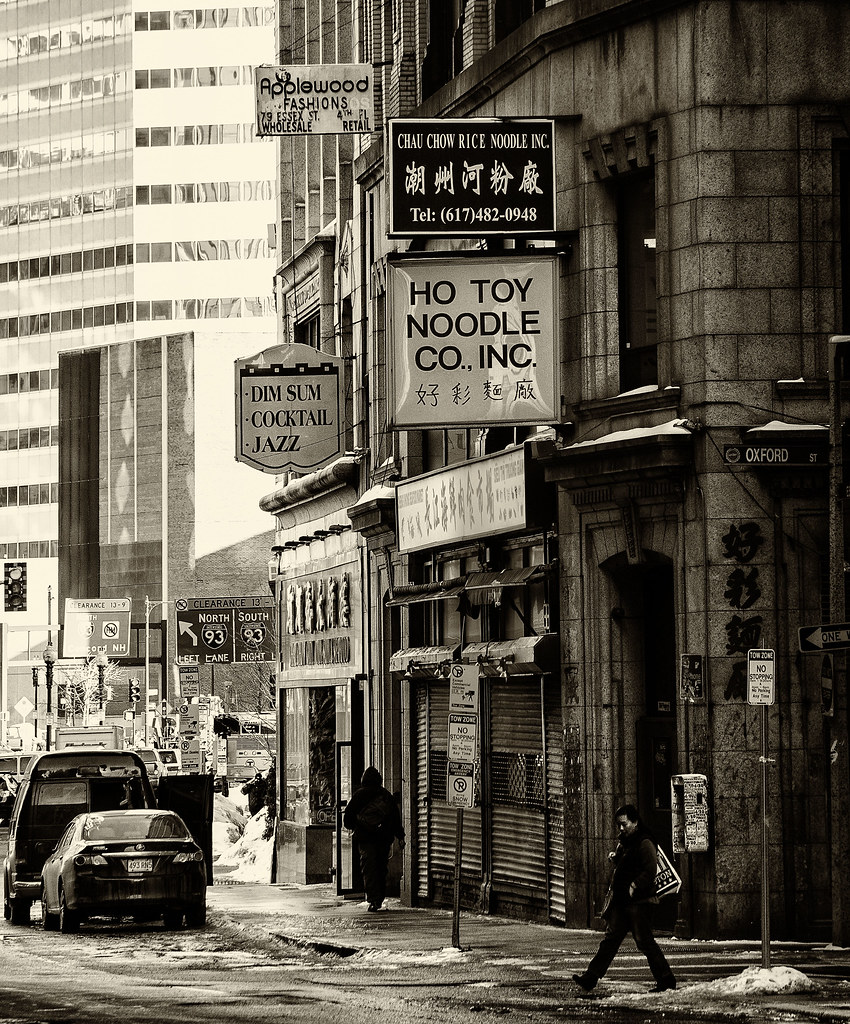 Boston Chinatown Boston Ma Paul Jarvie Flickr