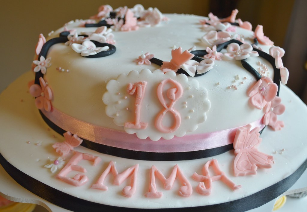 Cool Japanese 18Th Birthday Cake 18Th Birthday Cake Anitas Wicked Personalised Birthday Cards Rectzonderlifede