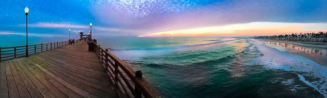 Oceanside Pier Pano