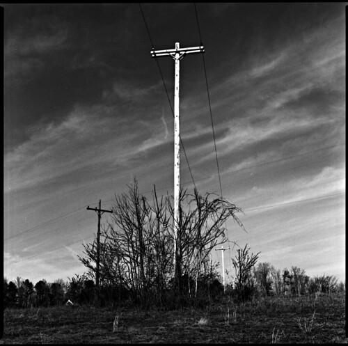 film blackwhite fuji telephone poles rodinal acros bronicasq