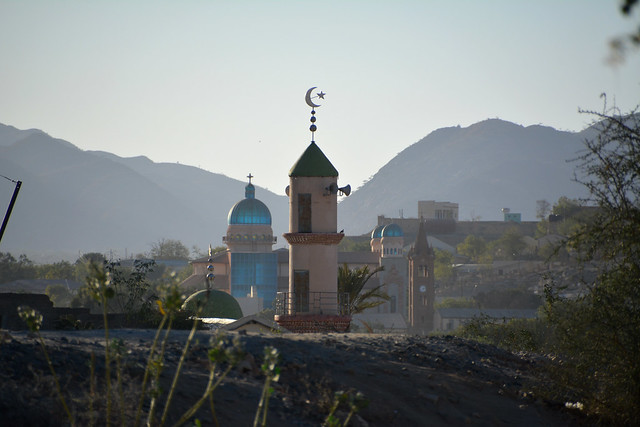 Keren / ከረን (Eritrea) - Mosque and Cathedral